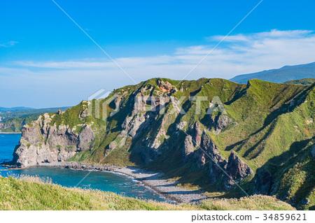 神威岬 海 大海 34859621