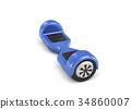 3d hoverboard render 34860007