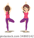 Yoga Tree Pose 34860142