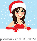 Christmas Woman 34860151