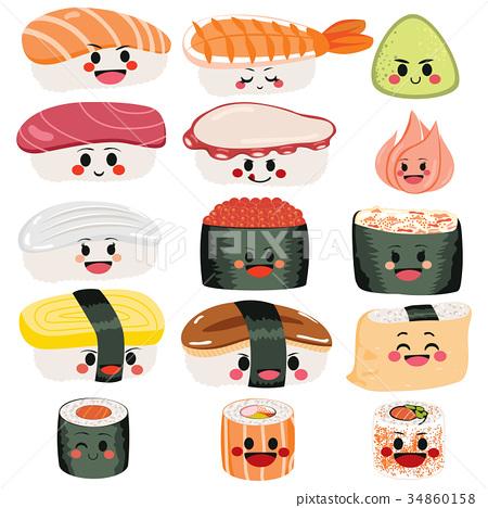 Sushi Cute Set 34860158