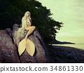 female mermaid sea 34861330