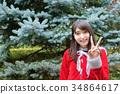 聖誕老人 聖誕老公公 和平標誌 34864617