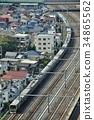 火車 電氣列車 東日本鐵路 34865562