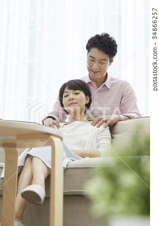 남편,아내,부부,중년부부 34866257