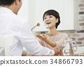一對 這對夫婦 餐 34866793