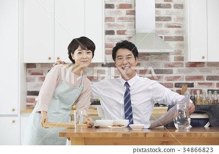 남편,아내,부부,중년부부 34866823