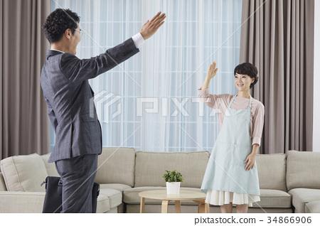 남편,아내,부부,중년부부 34866906