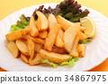 포테이토, 감자, 튀김 34867975
