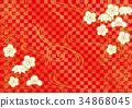 ume, japanese, pattern 34868045