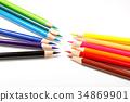 색연필, 컬러풀, 형형색색 34869901