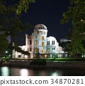 the atomic bomb Dome 34870281