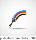 用于印刷的四分色 设计 绘画 34870700