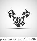 power engineering vector 34870707