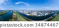มุมมองทางอากาศ Arakawa และ Toda Park 34874467