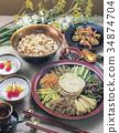 縐布 炒飯 中餐 34874704