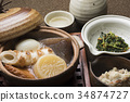 oden, stewed, boiled dish 34874727