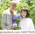 年長 夫婦 一對 34877620