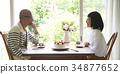 老人 情侶 夫婦 34877652