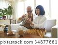 老人 夫婦 一對 34877661