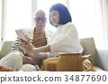 老人 夫婦 一對 34877690