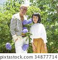 年長 夫婦 一對 34877714