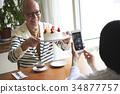老人 夫妇 一对 34877757