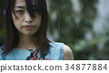 ผู้หญิงที่โดนฝน 34877884