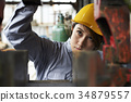 female, lady, woman 34879557
