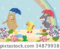 The rainy season of the animals 34879938