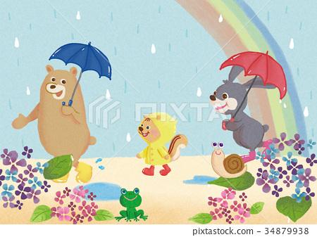 动物的雨季 34879938