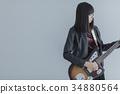 guitar, guitars, female 34880564