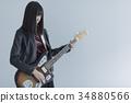 guitar, guitars, female 34880566