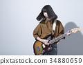 guitar, guitars, female 34880659