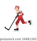 冰球 曲棍球 运动 34881383