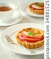 酸的 甜點 甜品 34881525
