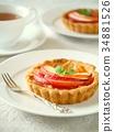 酸的 甜點 甜品 34881526