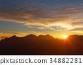 twilight, sunset, sunsets 34882281
