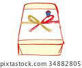 礼物 送礼 日式信封装饰 34882805