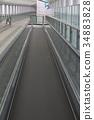 自动人行道 机场 人行道 34883828