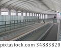 自动人行道 机场 人行道 34883829