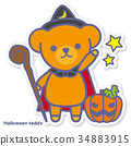 bear, bears, halloween 34883915