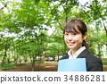 事业女性 商务女性 商界女性 34886281