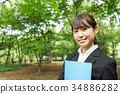 事业女性 商务女性 商界女性 34886282
