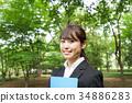 事业女性 商务女性 商界女性 34886283