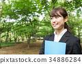 事业女性 商务女性 商界女性 34886284