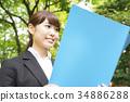 事业女性 商务女性 商界女性 34886288