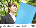 事业女性 商务女性 商界女性 34886289
