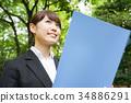 事业女性 商务女性 商界女性 34886291