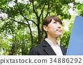 事业女性 商务女性 商界女性 34886292